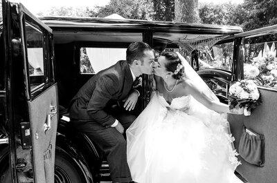 Le mariage rétro de William + Maéva : de l'amour et du swing !
