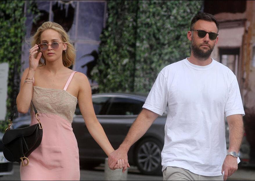 Jennifer Lawrence hat sich nach 8 Monaten Beziehung verlobt