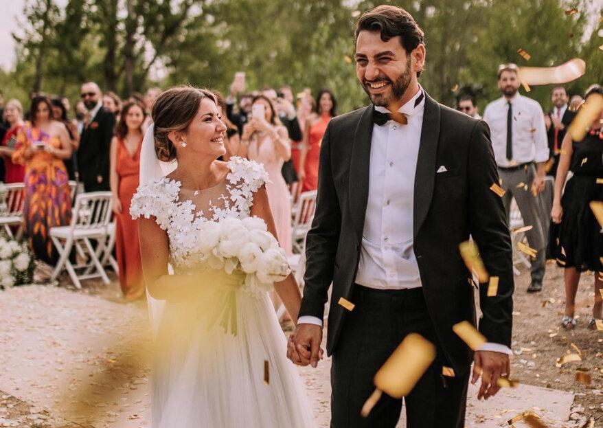 5 cosas que nos han fascinado de la boda de Alexandra Pereira y Ghassan Fallaha