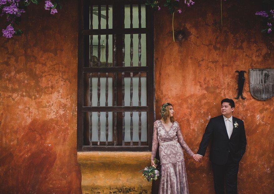 Coral Bodas by Elope to Cartagena: ¡así es una boda fugaz!