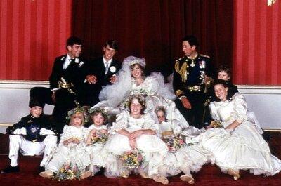 Vestidos de novia de los 80: El exceso está en el ambiente
