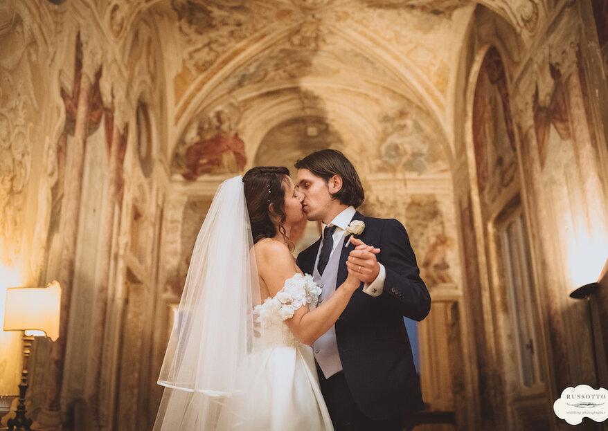 """Il """"Britalian Wedding"""" di Chiara & James, da Londra a Roma con amore"""