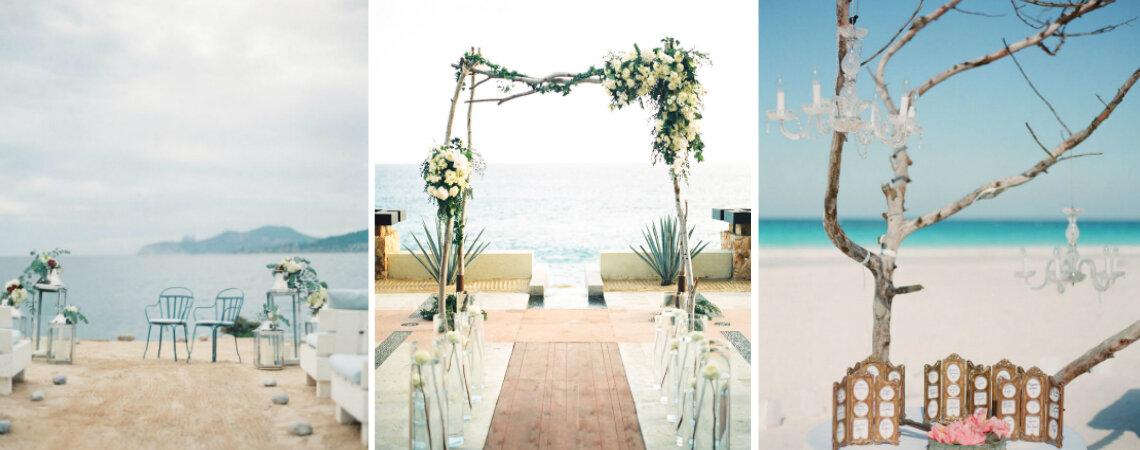Beach Wedding Decoration Inspiration: A Dream Day in a Unique Location