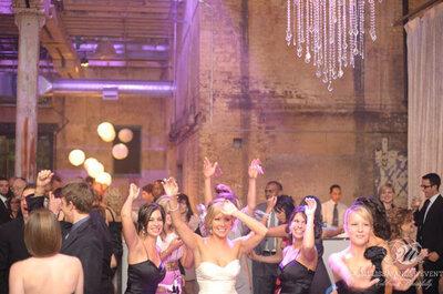 Una destilería, la locación perfecta para un toque industrial el día de la boda