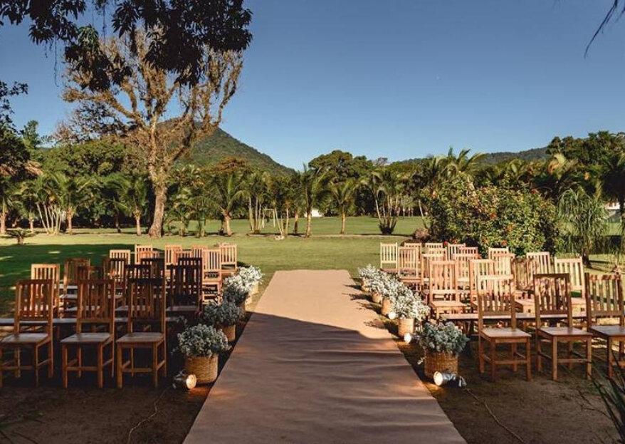 Buscando um cenário perfeito para a cerimônia do seu casamento? Essas vistas são de tirar o fôlego!
