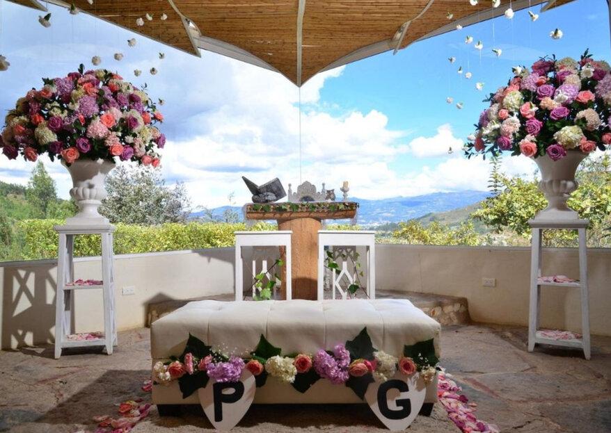 Cásate y vive tu noche de bodas en Boyacá, ¡conoce el Bella Tierra Hotel Boutique!