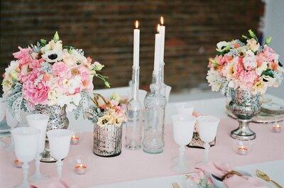 9 colores para la decoración de tu boda según Pantone