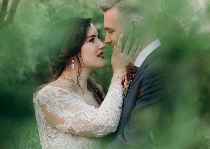 Os aspetos mais trendy em 2019 no que toca às suas fotografias de casamento