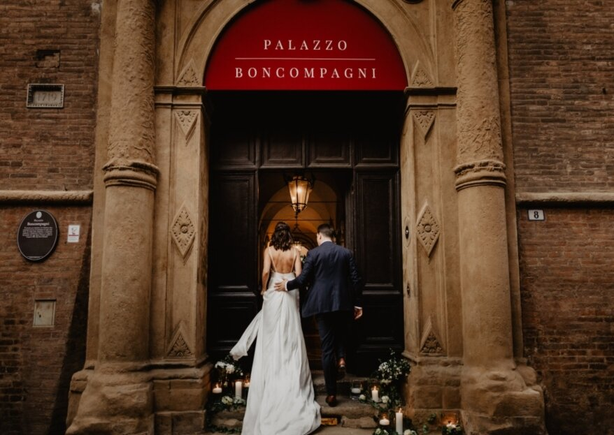 Palazzo Boncompagni: sposarsi tra affreschi dell'epoca in una location del 1500
