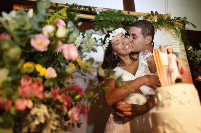 Casamento de Renata & Rossano: à beira mar e ao pôr do sol em Búzios!