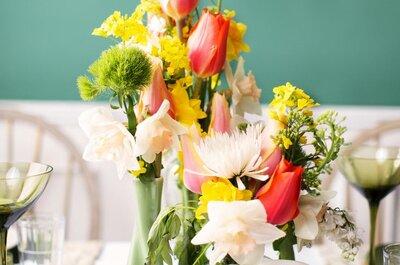 Inspiração floral para o seu casamento: saiba como escolher os arranjos e enfeites mais lindos para seu grande dia!