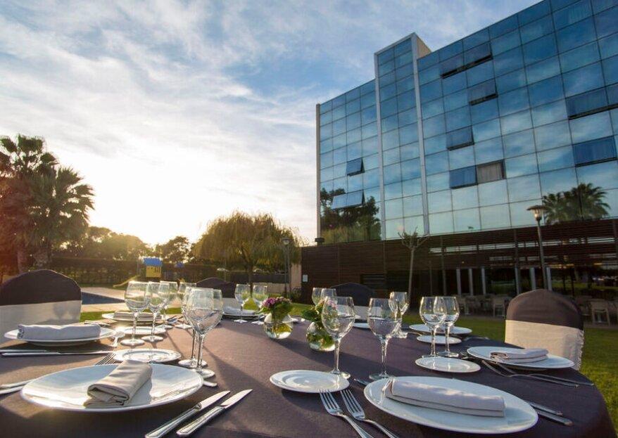 Hotel BCN Events: el lugar perfecto para tu boda muy cerca de Barcelona