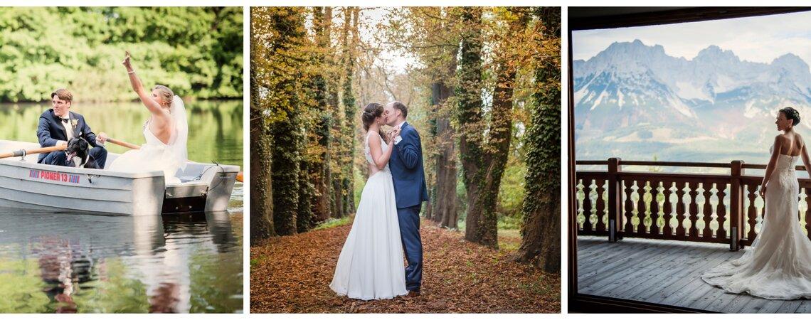 2 Tage, 1 Album - Ihr Hochzeitsfotograf begleitet Sie zur kirchlichen und standesamtlichen Hochzeit!
