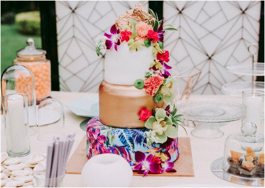 ¿Cómo elegir la torta de tu boda y que este sea un momento dulce? En 5 pasos te lo contamos