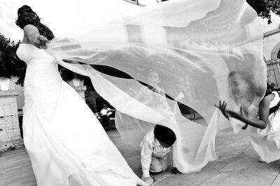 Feliz dia das crianças: flashes únicos de casamento