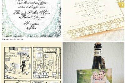 Poupar no casamento: convites e decoração