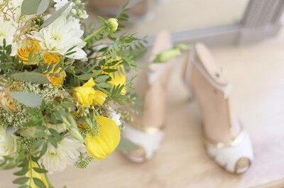 Le ispirazioni più belle per un matrimonio in giallo e bianco