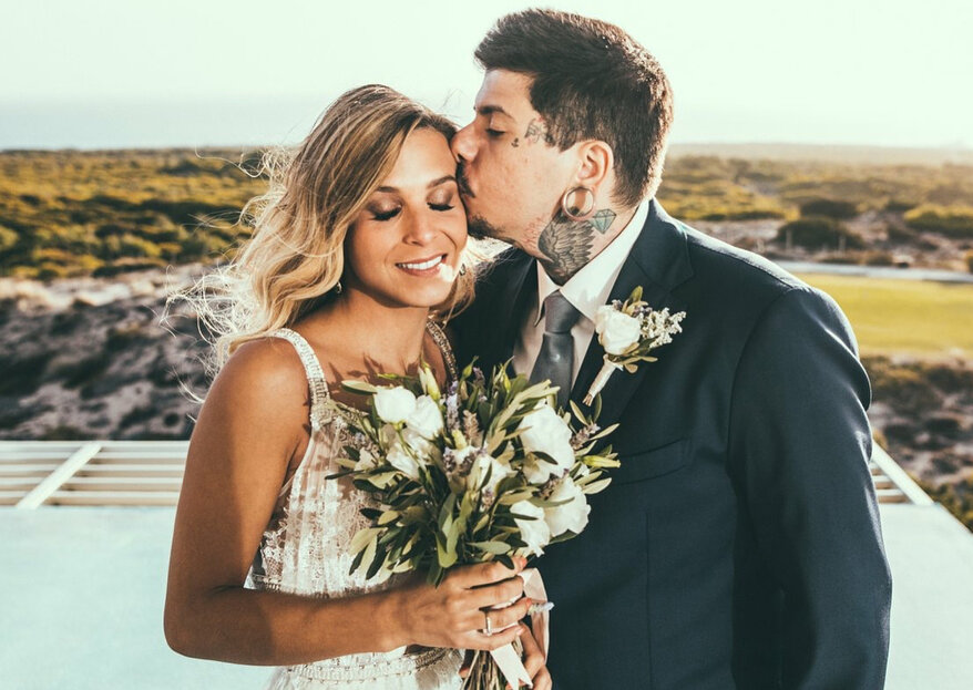 Agir e Catarina Gama assinalam um ano de casamento com fotos & declarações românticas