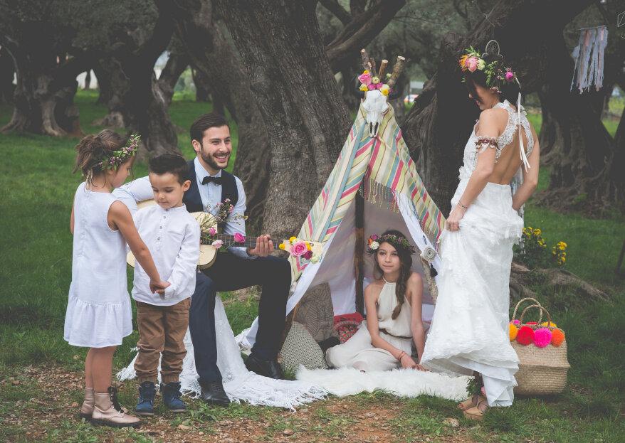 ¿Cómo decorar un matrimonio hippie en solo 5 pasos?