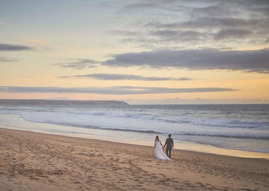 Registe o Grande Dia na praia com a arte, originalidade e técnica destes (super) fotógrafos.