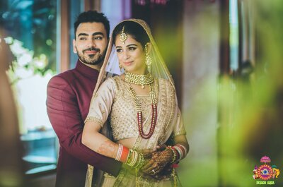 Stunning wedding of Kiah and Ron- the one where the bride chose the lehenga over FaceTime