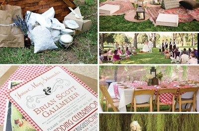 Come organizzare un matrimonio in stile Picnic: 5 consigli da non perdere