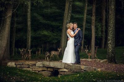 Descubre los invitados sorpresa en esta fotografía de boda