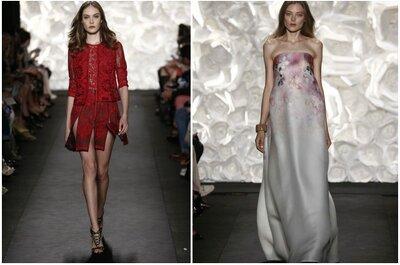 Looks de festa com glamour e sensualidade de Naeem Khan na New York Fashion Week 2015
