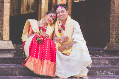 Fun filled Real Wedding of Deepa and Neil: The one that had two Weddings
