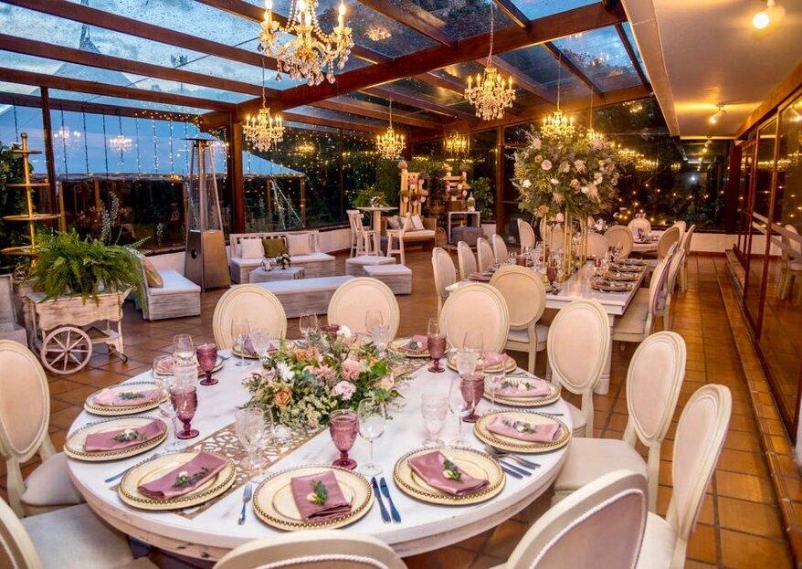 Clásico, moderno o romántico: tres estilos para tu boda en Hacienda Retiro de San Juan