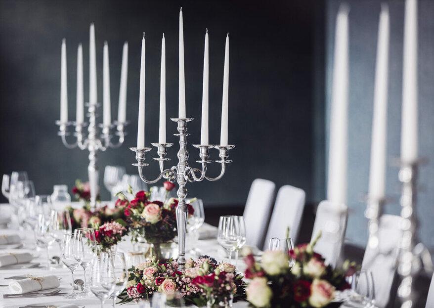 Romantisch, urig oder stylish: Welcher Hochzeitslocation-Typ sind Sie?