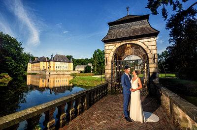 Märchenhochzeit auf Schloss Dyck - Eines der schönsten Schlösser Deutschlands als traumhafte Location!