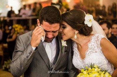 Como surpreender o noivo antes, durante e depois do casamento: dicas que arrancarão lágrimas deles!