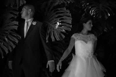 Dos corazones convertidos en uno: La boda de Gilda y Rodrigo