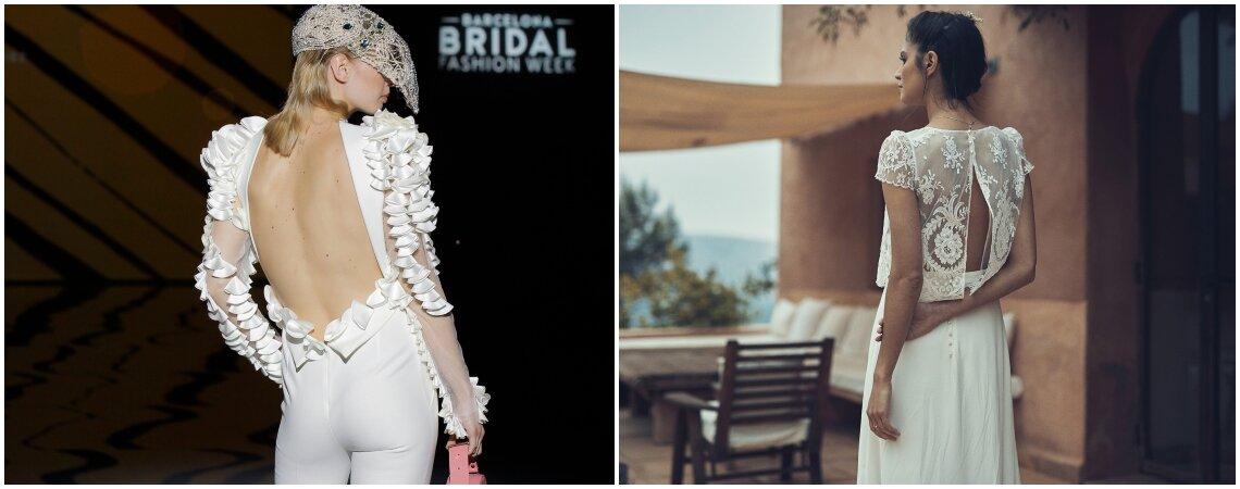 Vestidos de novia con escote en la espalda: ¡los querrás todos!
