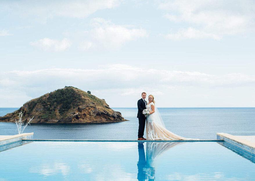 Ambiance Weddings Azores : des wedding planners spécialistes des mariages aux Açores