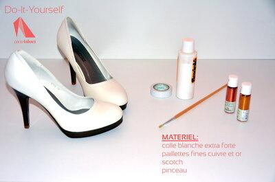 Comment customiser ses chaussures de mariées ? Des tutos DIY géniaux!
