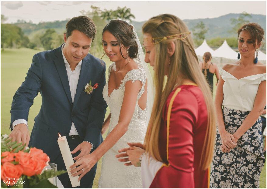 Cómo realizar la ceremonia de la luz: ¡tendrás una boda llena de simbolismo!