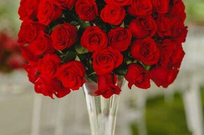 Cómo decorar una boda con detalles en color rojo y blanco