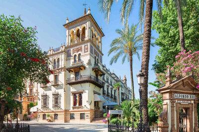 Los 8 mejores hoteles para bodas de Sevilla
