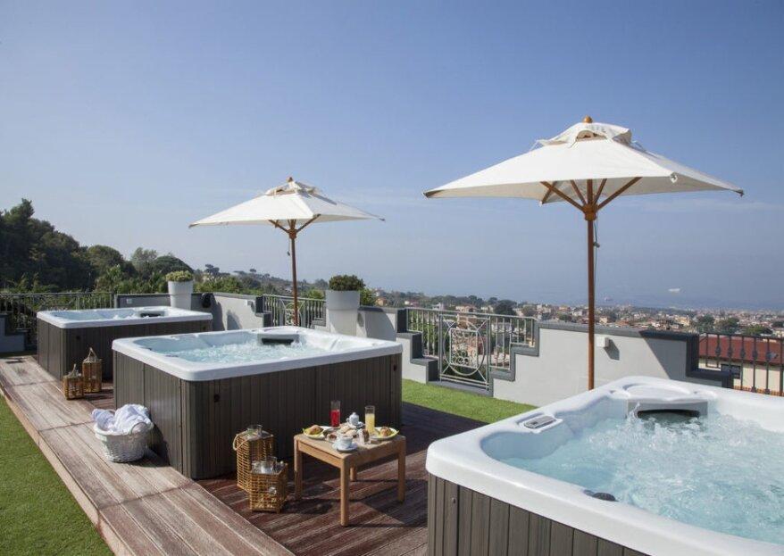 Panorama, comfort e lusso: gli ingredienti di un giorno perfetto all'Andris Hotel