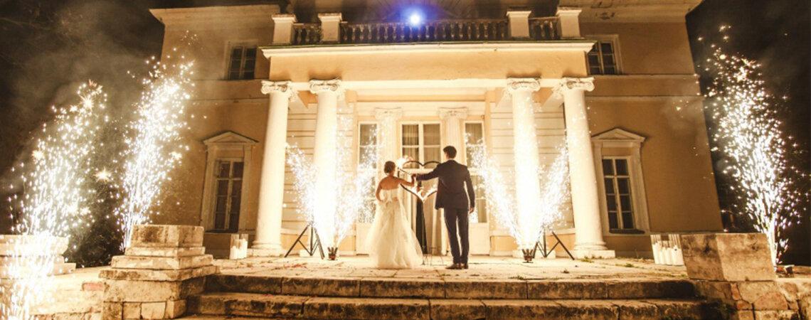 Яркое завершение свадьбы: как спланировать фейерверк?
