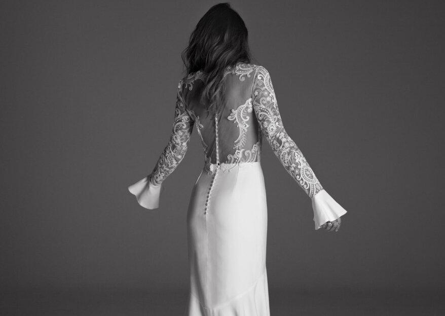 ¿Qué son las mangas dramáticas para novias? Conoce la nueva tendencia para vestidos de la temporada
