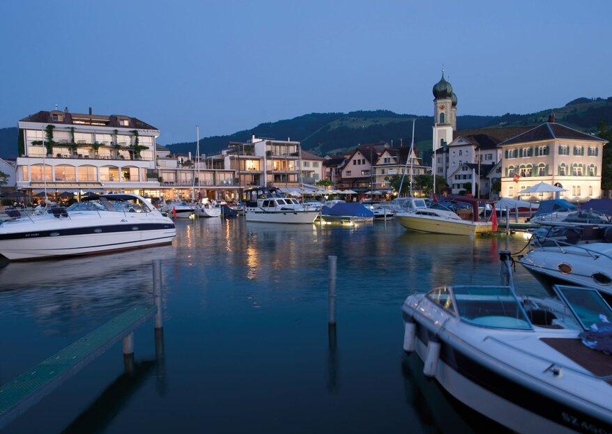 Marina Lachen: Feiern Sie Ihre Hochzeit mit Blick auf den Zürichsee!