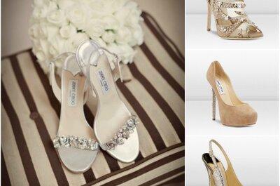 Coleção Bridal Jimmy Choo -  sapatos de luxo para noivas (e noivos!)