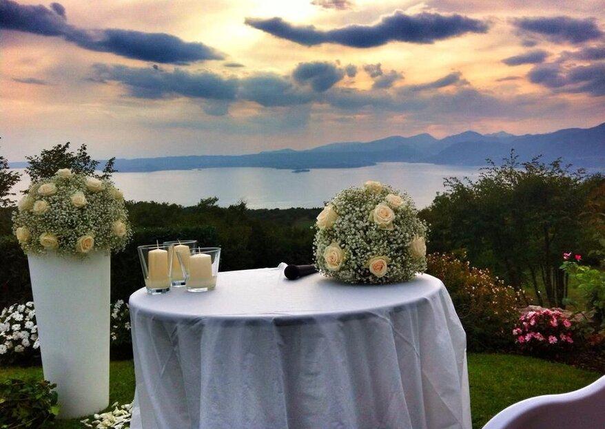 Le location dove poter organizzare il matrimonio ideale in qualsiasi stagione dell'anno...
