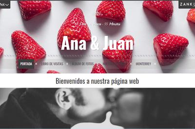 Dale el toque a tu web de bodas con un diseño exclusivo
