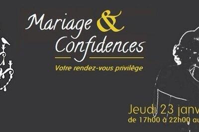 Mariage & confidences, un salon du mariage pas comme les autres!