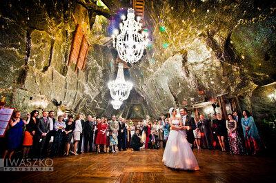 Pomysł tygodnia: ślub i wesele głęboko pod ziemią