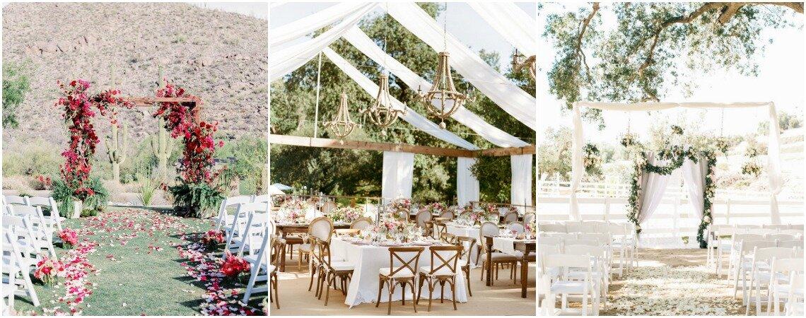 Decoración de boda al aire libre ¡Conoce todas las tendencias!